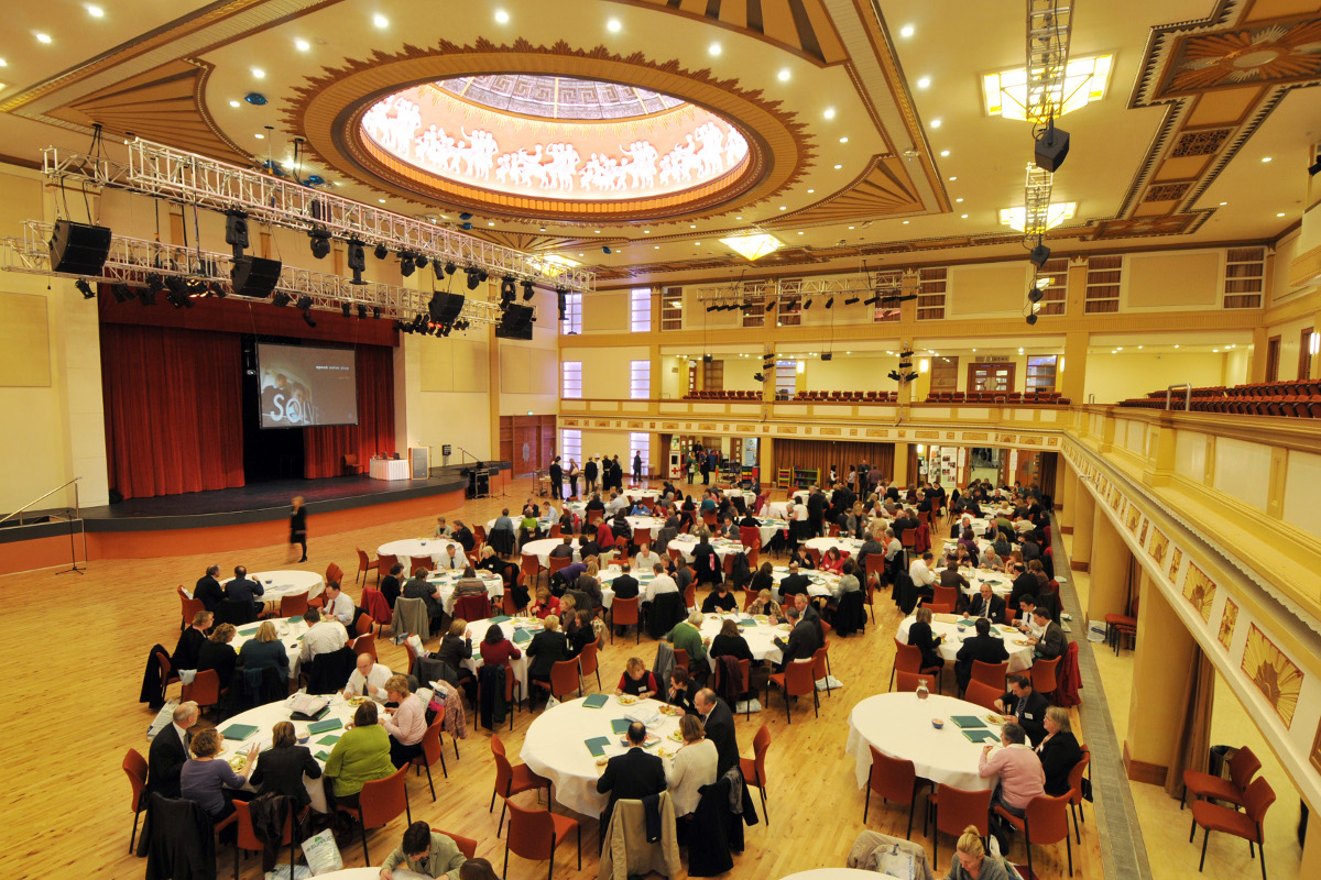 Conference in The Royal Hall